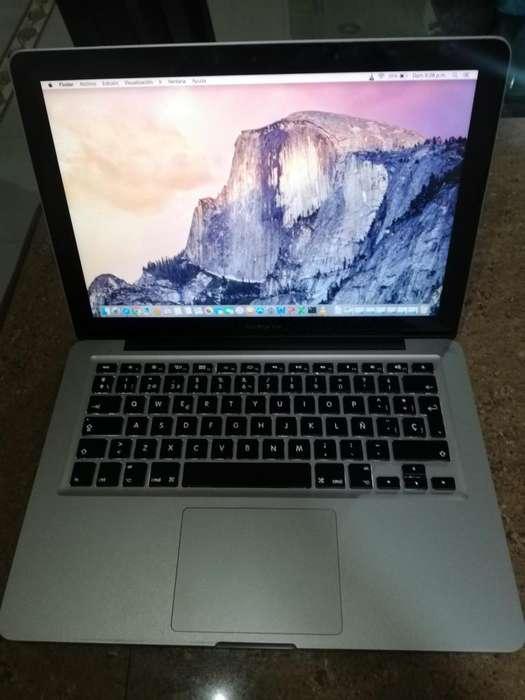 Macbook Pro 133 pulgadas en perfecto estado procesador Core i5 disco