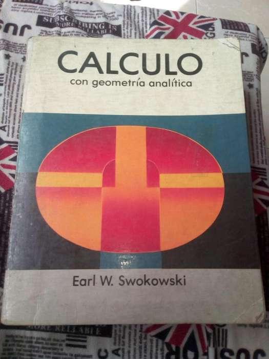 Vendo libro de Clculo de Earl W Swokowski