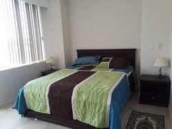 Alquilo Departamento Amoblado 2 Dormitorios Torre Hilton Colon