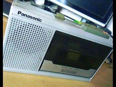 Vintage Panasonic RQ-341 portátil reproductor de cassette grabador-
