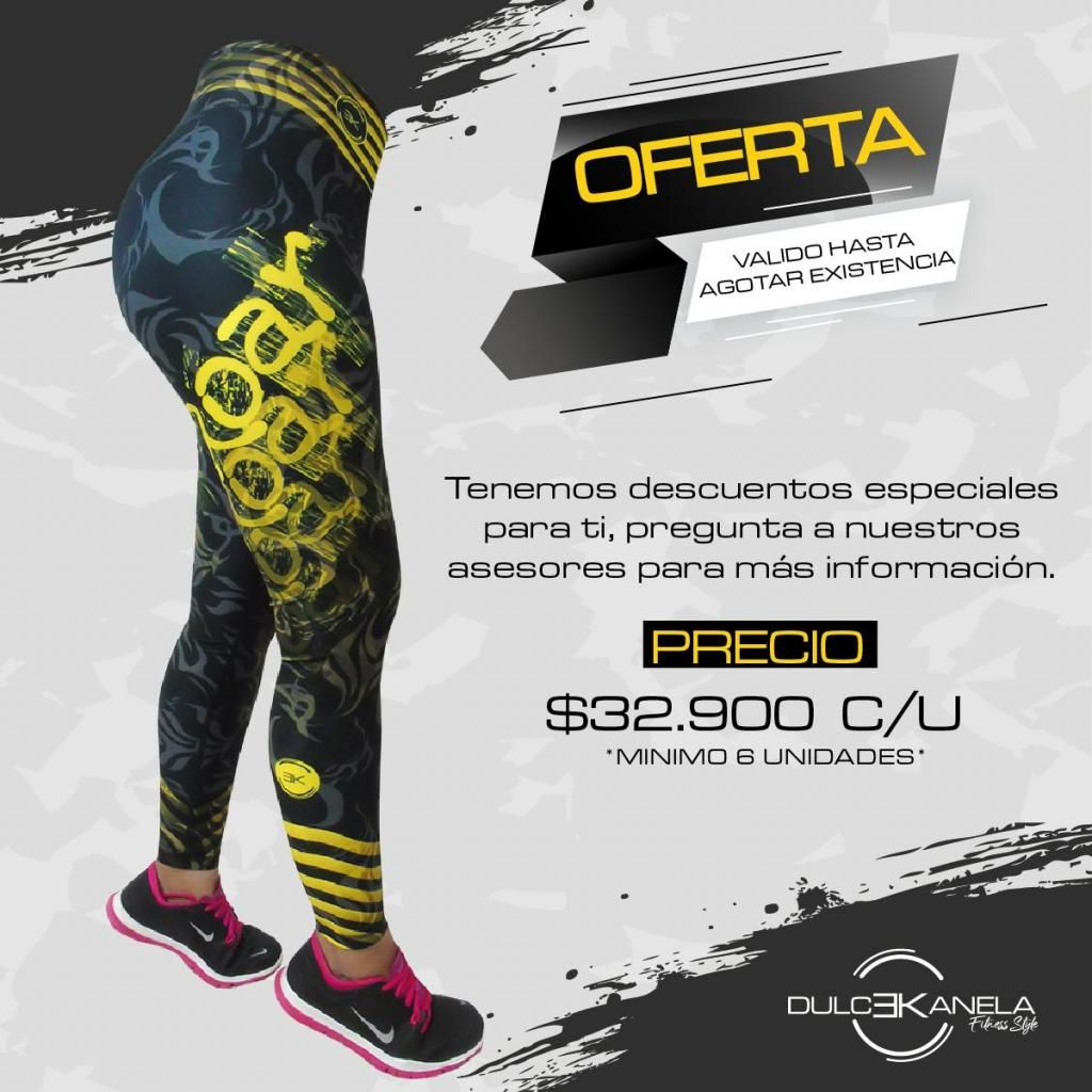 OFERTA LEGGINS AL POR MAYOR