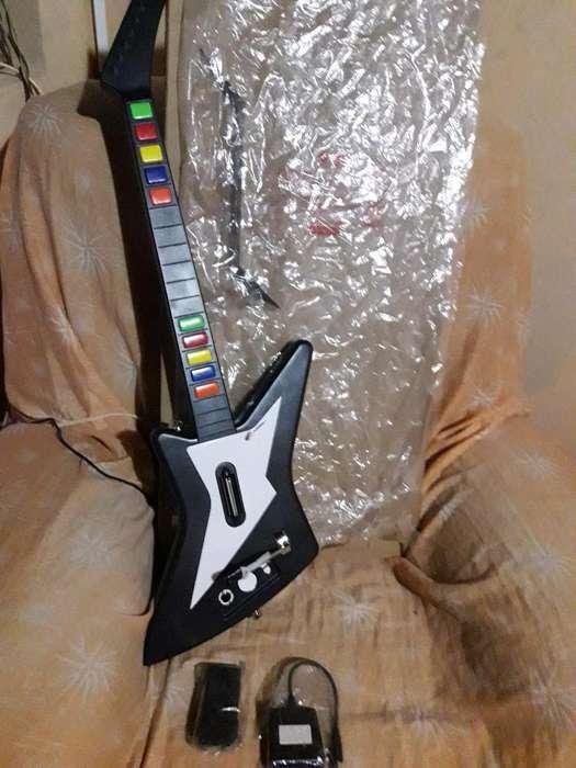 Guitarra para Video Juegos con Usb