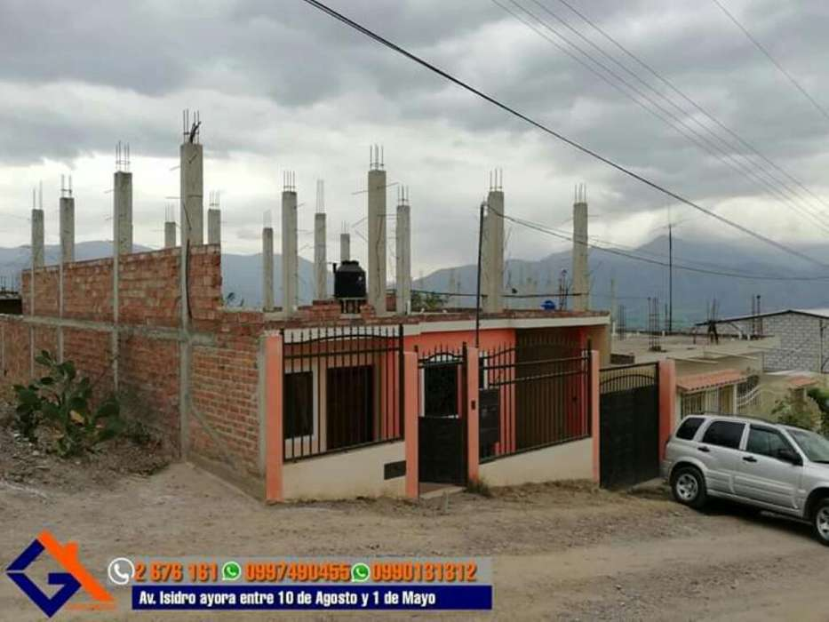 Venta de Casa de Una Planta en Catamayo