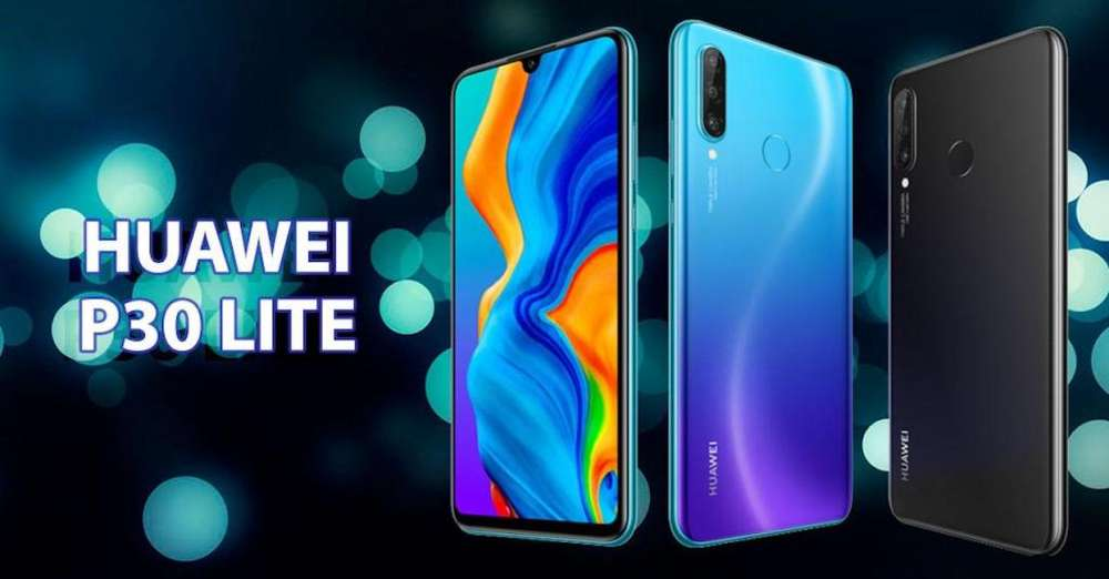 Huawei P30 Lite 128gb4gb Triple Cámara