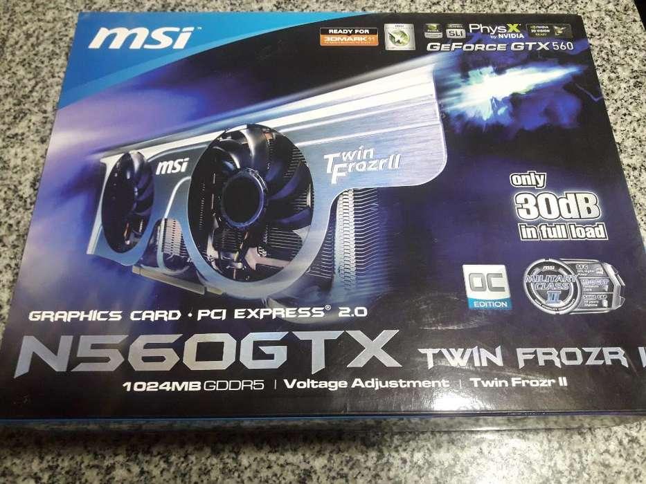 Placa de Video Msi Gtx 560