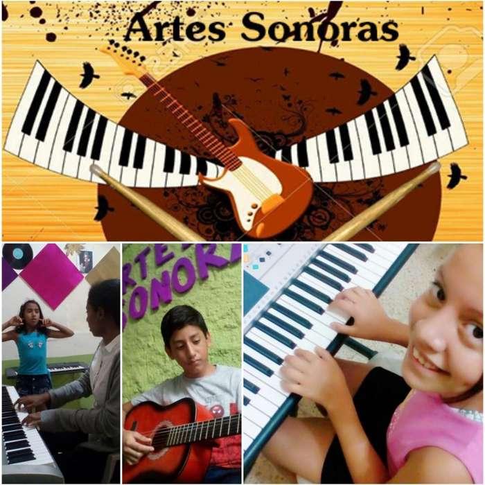 ESCUELA DE MÚSICA <strong>arte</strong>S SONORAS PIANO-GUITARRA-VIOLÍN-CANTO SECTOR NORTE DE GUAYAQUIL INFO 2890672-0969908604