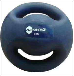 BALON MEDICINAL PVC MIYAGI 1 KILO AZUL