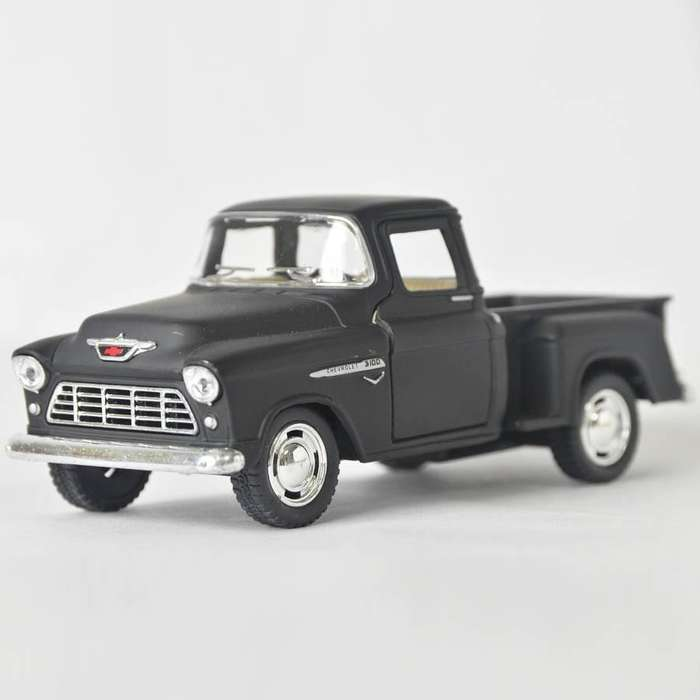 Chevy Stepside 1955 Negro mate - Escala 1:32 Ref 568