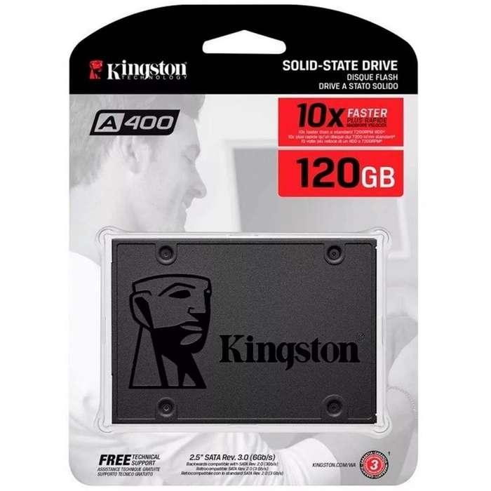 DISCO DURO SOLIDO KINGSTON 120GB