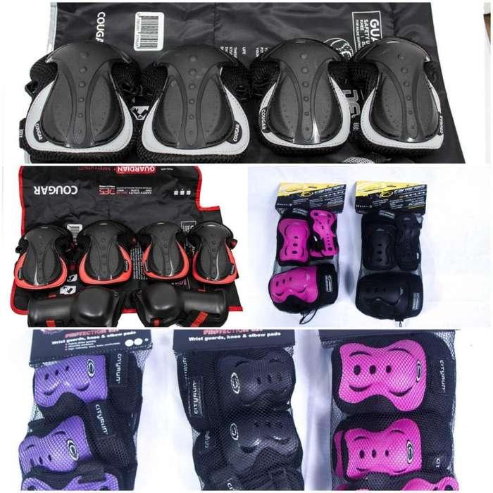 rodilleras y protección para patines