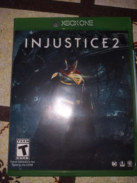 Vendo Injustice 2 para Xbox One