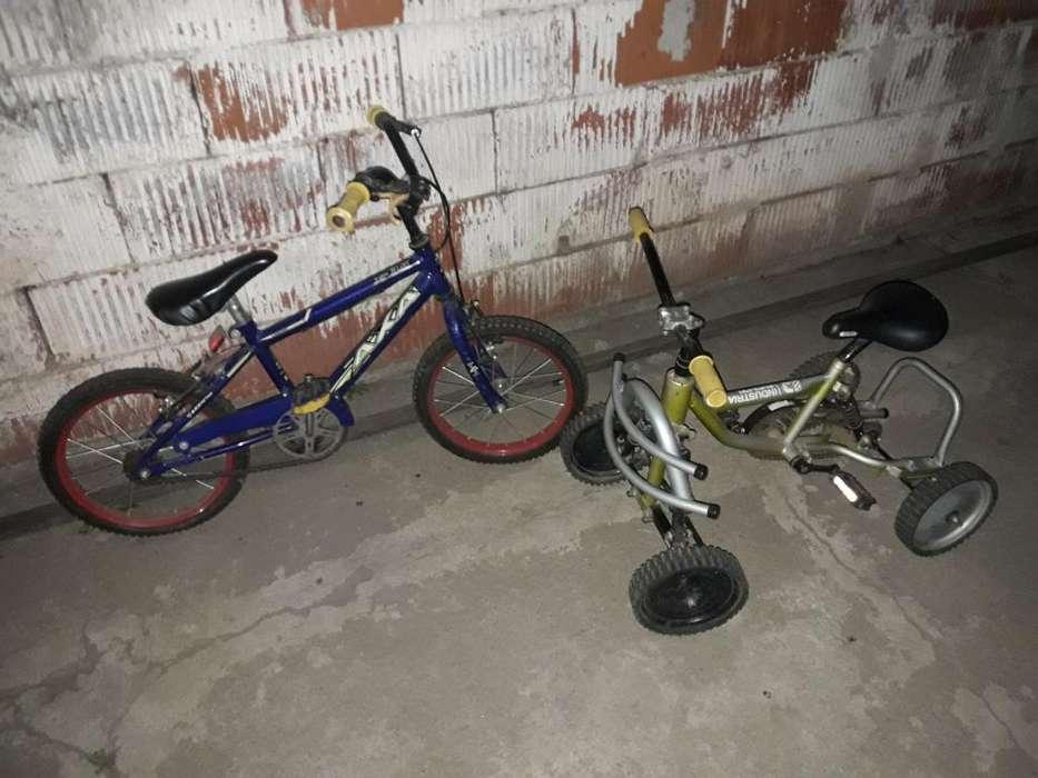 Bicicleta R16 Y Cuadri Se Van Hoy.