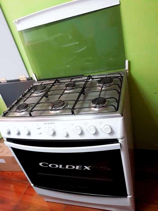 Cocina coldex 6 hornillas