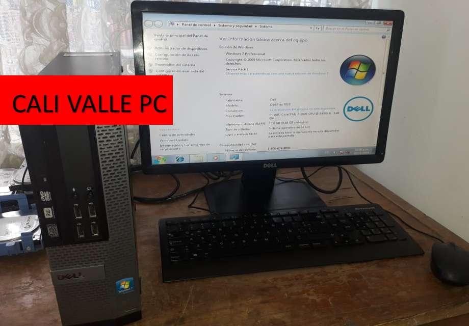 OTIPLEX 790 CORE I7 EQUIPO COMPLETO 8GB DE RAM DISCO DE 500GB TARJETA VIDEO NUEVA GARANTIA 4 MESES