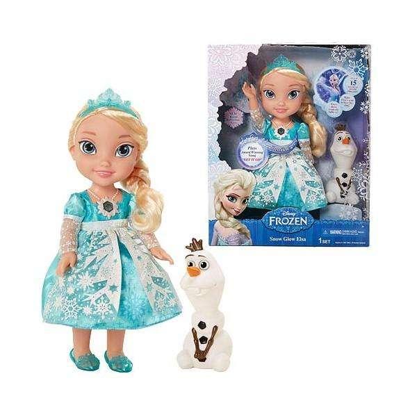 Elsa Muñeca Frozen Canta En Español Inglés Princesas Niñas