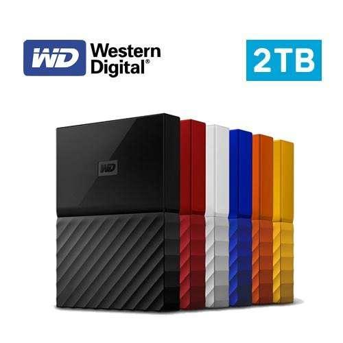 DISCO DURO EXTERNO 2TB WESTERN DIGITAL MY PASSPORT WD USB 3.0