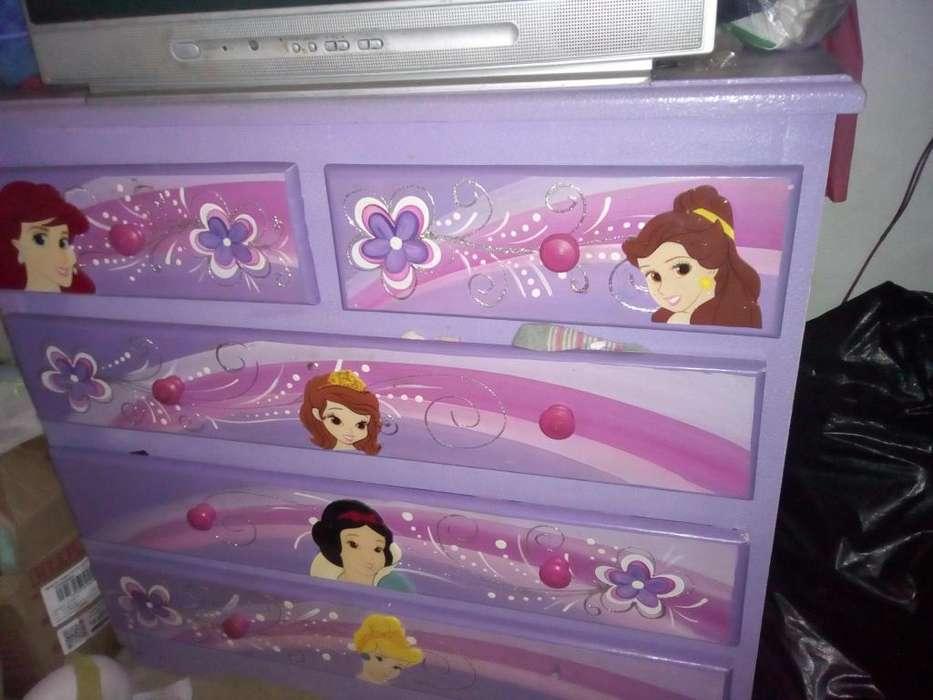juego de alcoba para niña de las tres princesas