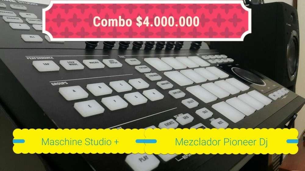 Mezclador Pioneer Dj Y Maschine Studio