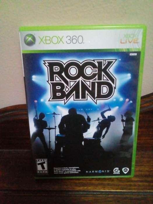 Rock Band xbox 360 juego Original