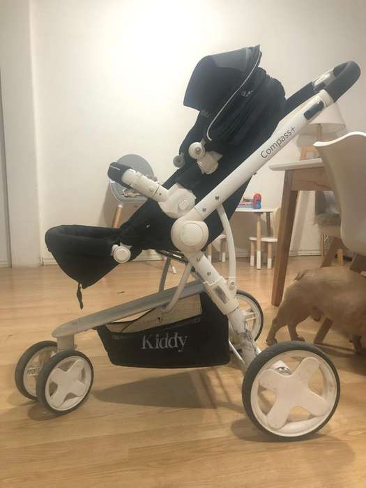 <strong>cochecito</strong> Bebe Kiddy Compass Plus White