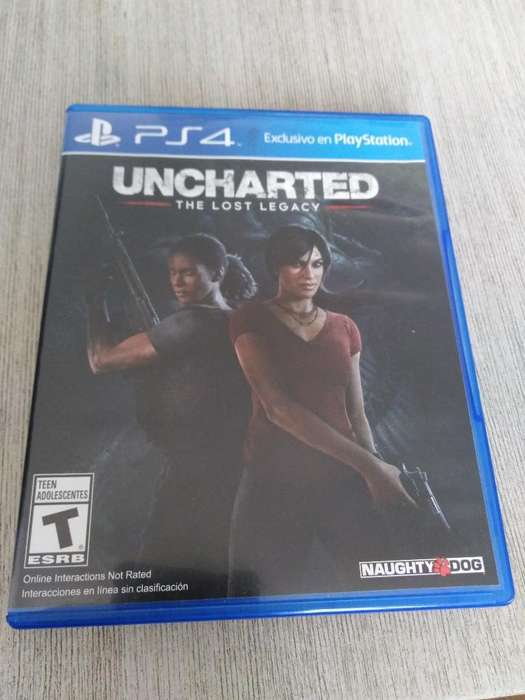 Vendo Uncharted Lost Legacy Ps4