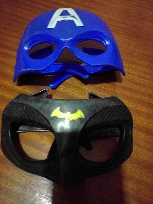 Máscaras Antifaz Super Héroes