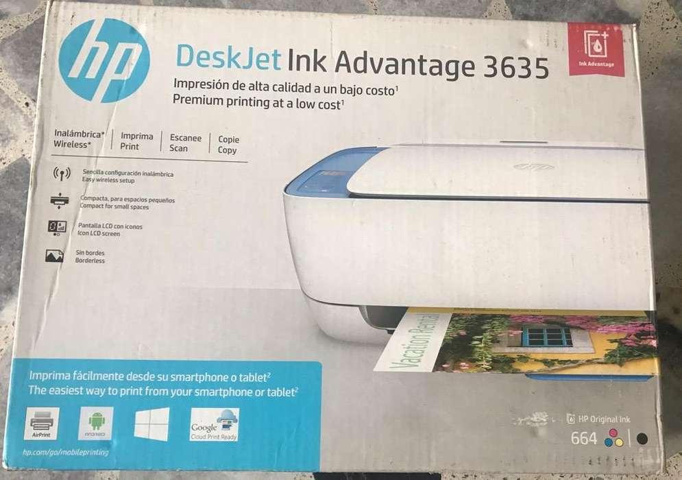 Impresora Deskjet 3635