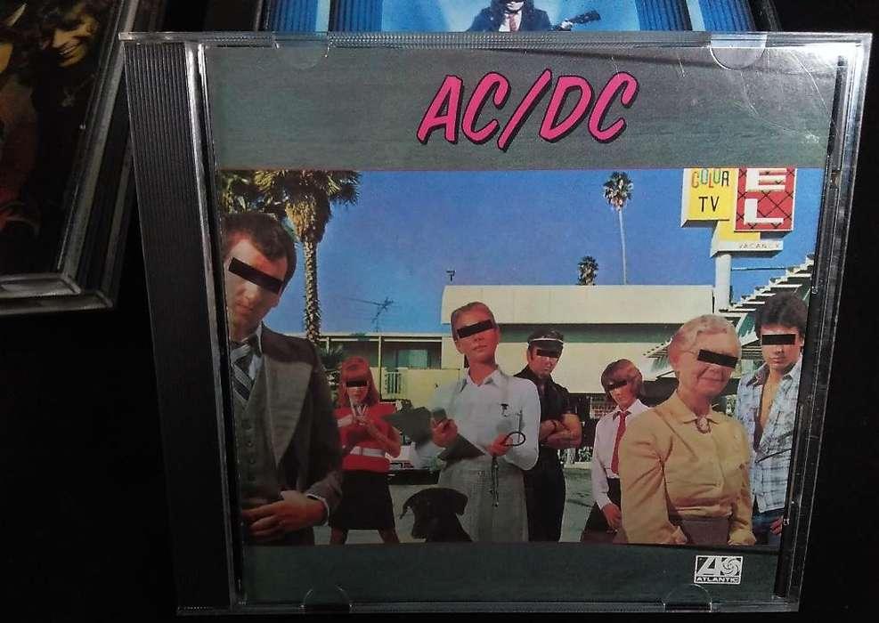CD ORIGINAL de ACDC Dirty Deeds Done Dirt Cheap Made in USA Perfecto estado. Tenemos otros.