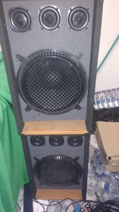 Cabinas Pasivas 12'' con Amplificador