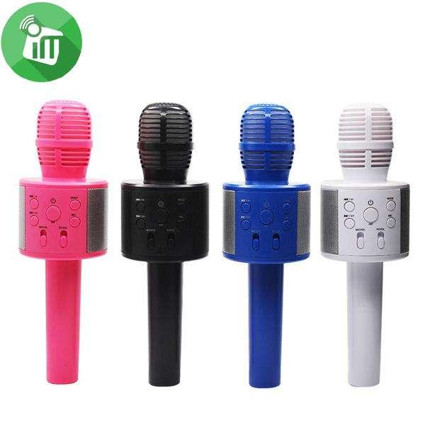 Micrófono Inalambrico Parlante Bluetooth Recargable Tecno cooler