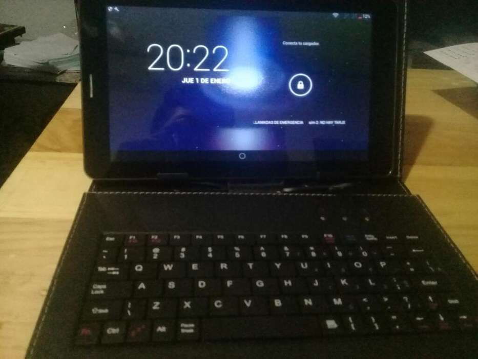 Tablet Android Os 1080 Full Hd Estuche