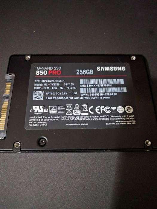 Disco Duro Solido SSD Samsung 850 Pro 256 GB
