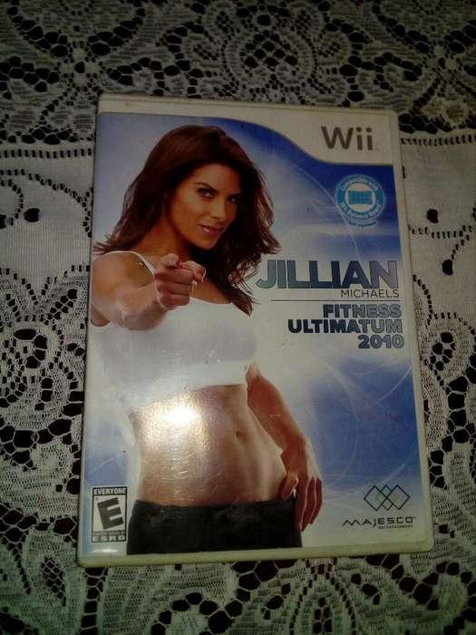 Juego Nintendo Wii Jillian Fitness