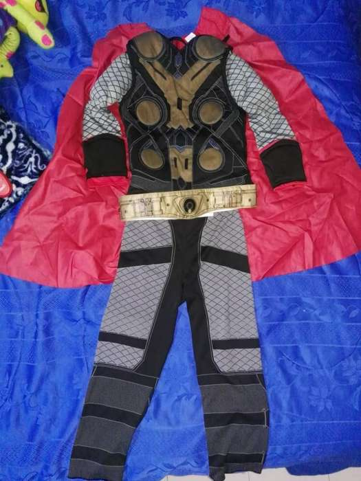 Disfraz de Niño Batman, Thor Y Pantera N