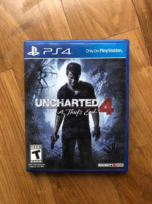 Uncharted 4 playStation 4 ps4 fisico PERMUTO X GTA 5