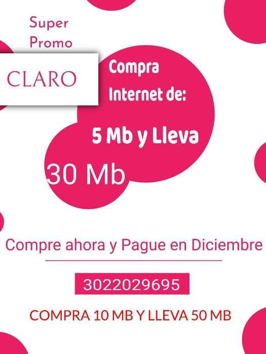 Compra Internet de 5 Mb Y Lleva 30 Mb