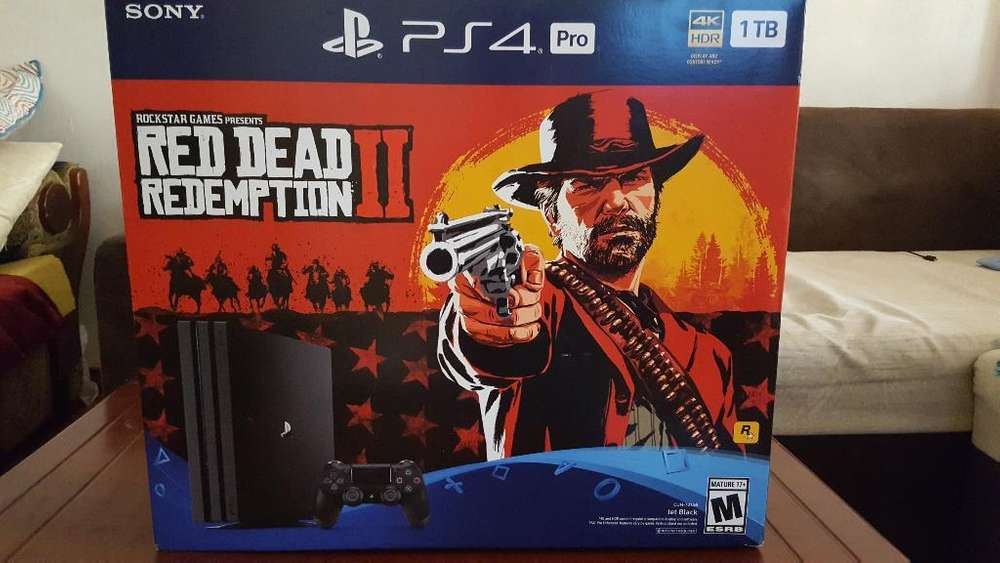 Playstation Ps4 Pro Red Dead Redemption2