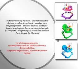 Caminador Bebes Pimpones 3 Niveles Graduable Sonidos Nuevo Original