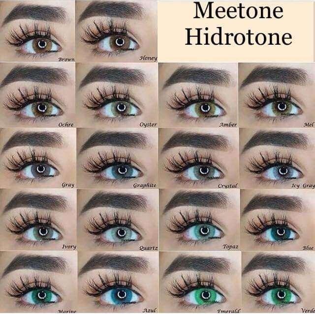 lentes de contacto Meetone sin borde
