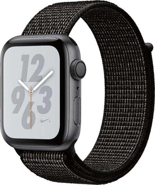Apple Watch Serie 4 Nike GPS Con Caja de Aluminio En Gris Espacial de 44 MM y Correa Loop Nike Sport Negra