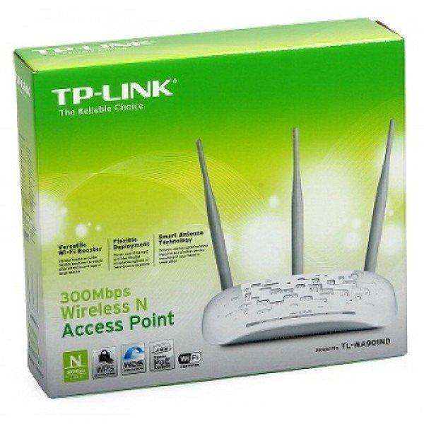 Repetidor Access Point Tplink TL WA901nd 450Mbps 3 Ant