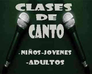 CLASES DE CANTO .. ( vocal coaching )