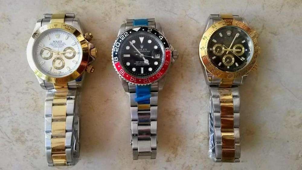 Hermosos Relojes Rolex, Automaticos, Swiss Made, Nuevos, de Acero Inoxidable, ...