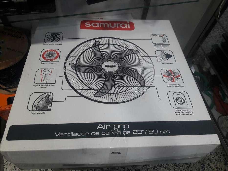 Ventilador Air Pro Samuray de Pared