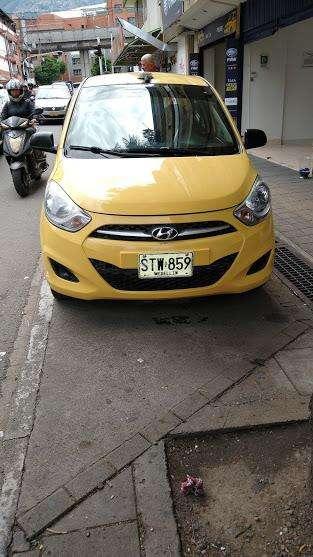 Taxi Hyundai I10 2013 Medellín tax coopebombas, Recibo Usado O Cupo