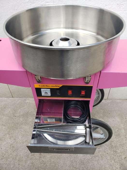 Maquina de Algodón de Azúcar Semi Nueva