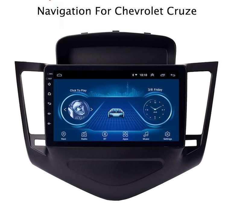 ANDROID CHEVROLET CRUZE 2009-2014 BLUETOOTH GPS AUTORADIO OPCION PARA CAMARA DE RETROCESO