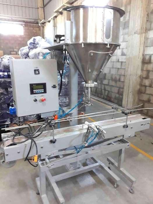 Llenadora Envasadora Dosificadora De Polvos Automatica
