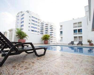Alquiler de apartamento, laguito, bocagrande, morros Cartagena