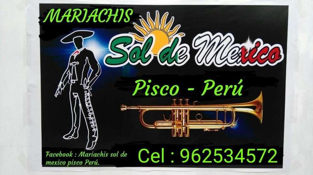 Mariachi Sol de Mexico Pisco- Perú